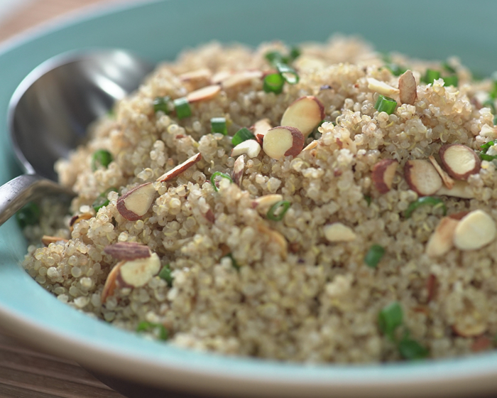3 Ingredient Quinoa Pilaf