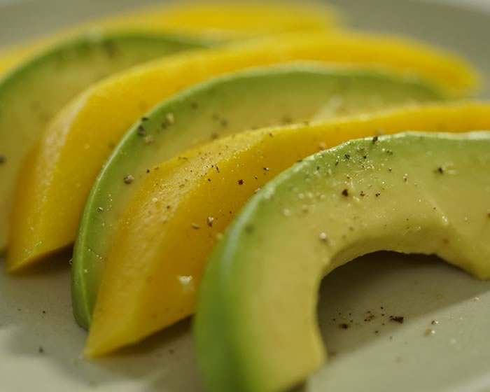 3 Ingredient Mango-Avocado Salad