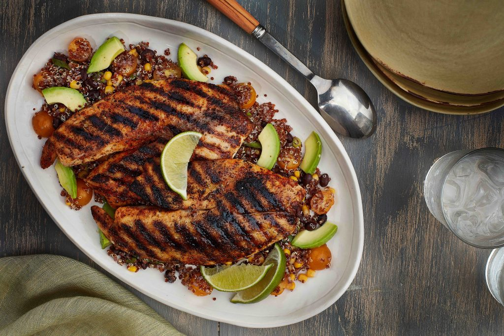 A 4-Step Formula for Fast Healthy Dinners